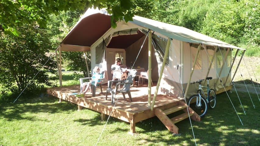 Domaine LaCanal Safari Lodge tent - Nages - Zelt