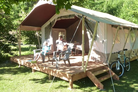 Domaine LaCanal Safari Lodge tent - Nages