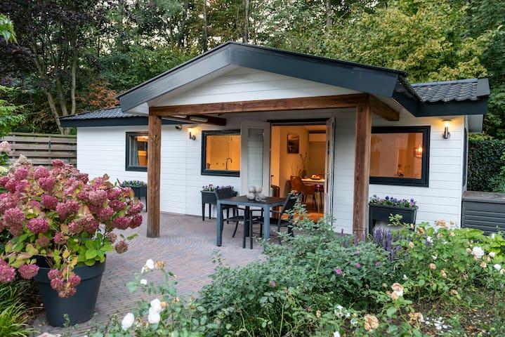 Luxe huisje inclusief ontbijt op de Veluwe
