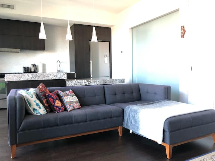 1 Bedroom condo in hearth of down town
