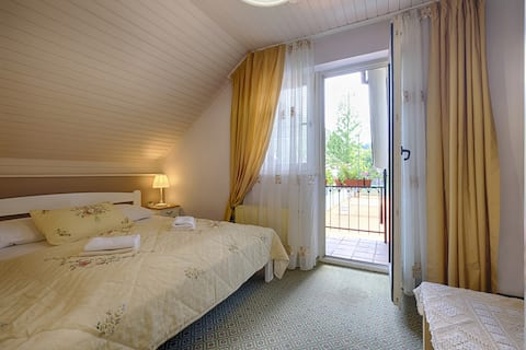 Penzion Park - Double Room with Balcony