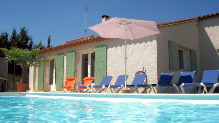 Villa individuelle avec piscine privée 8x4 m