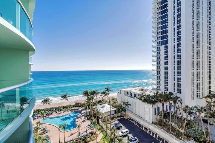 Miami Tides 1 dormitorio , 1.5 baño vista mar