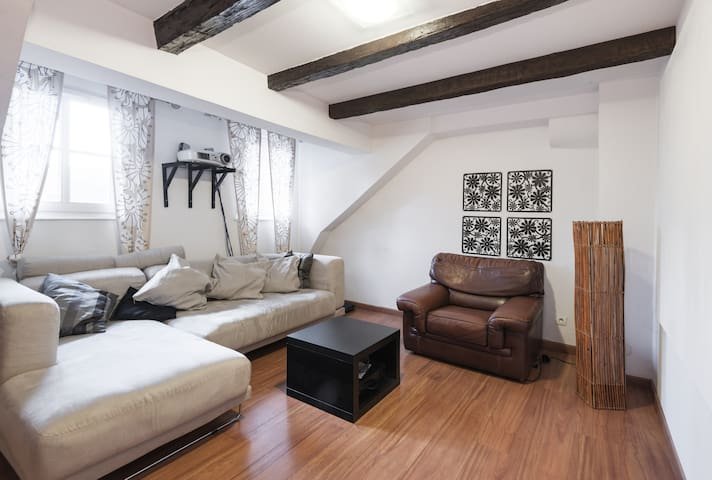 grande chambre privative hyper centre - Strasbourg