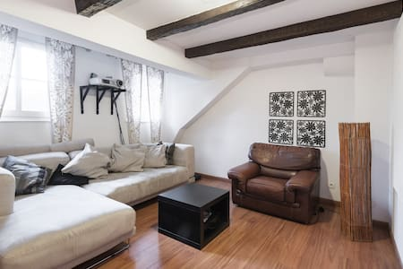 grande chambre privative hyper centre - Strasbourg - Apartment