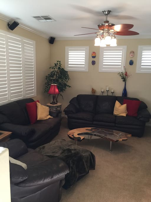 Family room which you may use