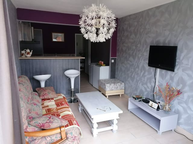 Appartement calme et chaleureux