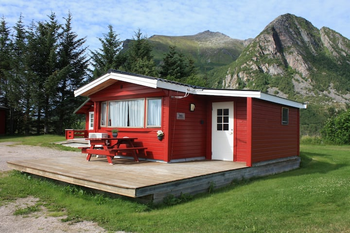 Fully equipped cabin with 3 bedrooms