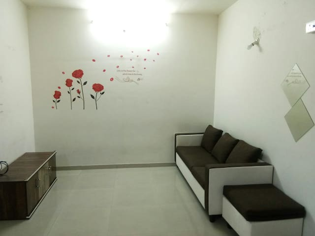 1BHK Serene and cool stay in casa bella new mumbai