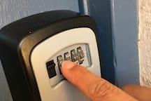 Easy Key access via lock box
