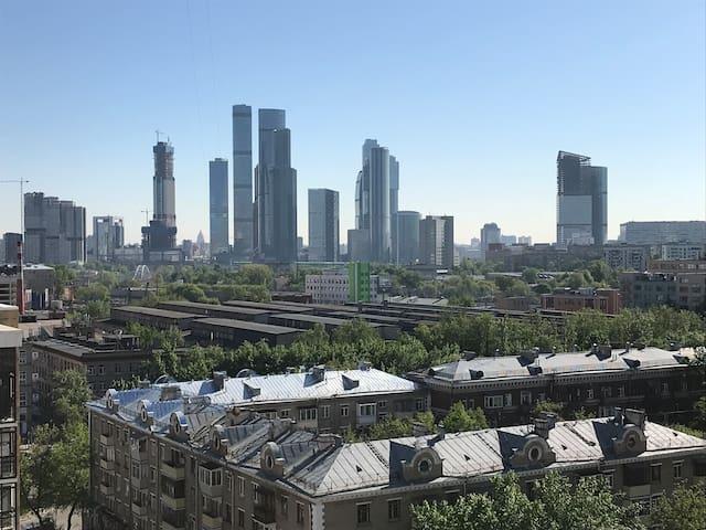 Moscow  Poklonnay Hill appartment