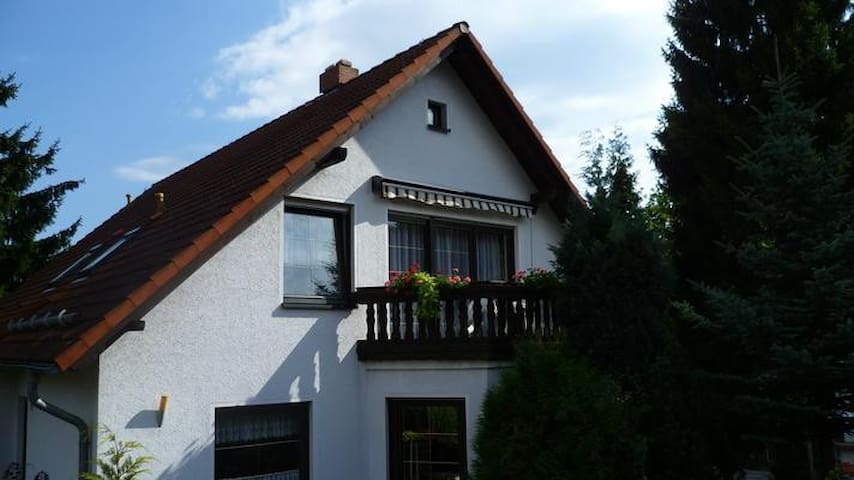 Holiday apartment in the Zittau mountains / health resort Jonsdorf