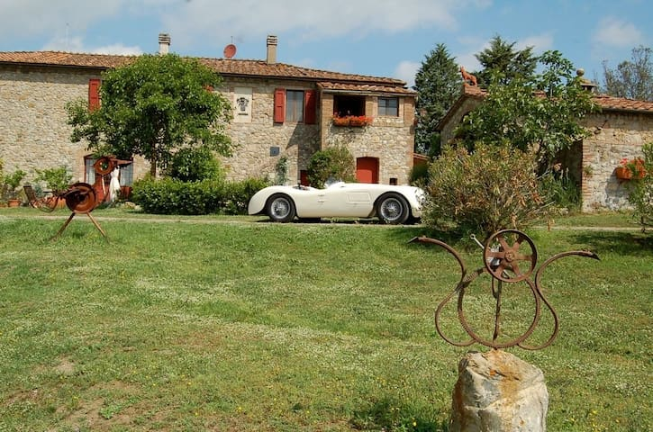 Idyllic with garden and pool - Villa S. Ansanino