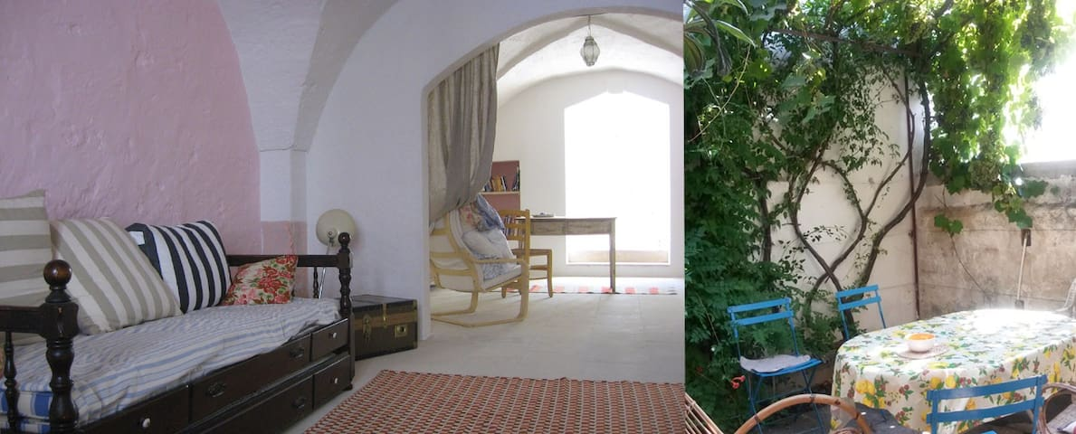 Holiday apartment with lovely patio in Salento