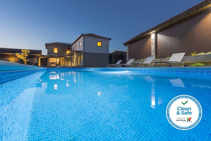 Casa da Visa - Villa Espaçosa com piscina aquecida