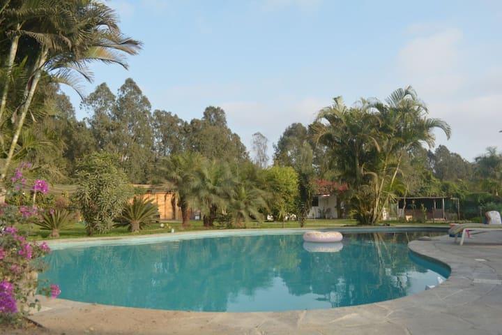 Casa de Campo en Pachacámac - cómodas habitaciones