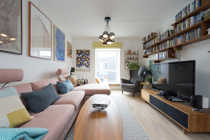 Peace, bike, bed and breakfast in central CPH