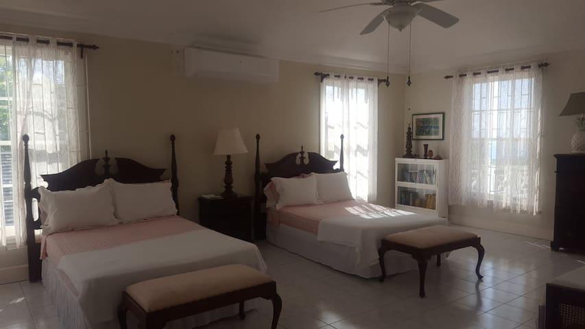 West side master bedroom