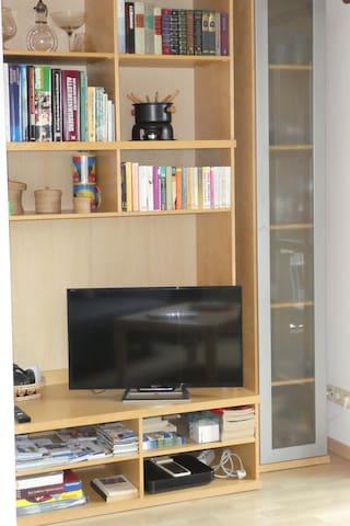 Wohnzimmerregal mit TV
