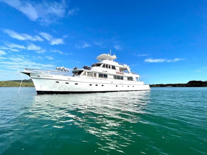A Unique Boutique Superyacht with Comfort & Style