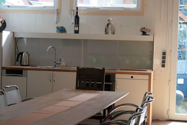 Atelierloft unten Küche