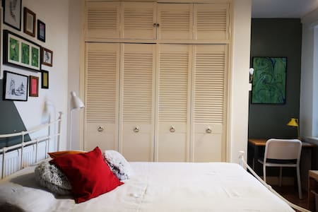 Cozy double room at King's Cross