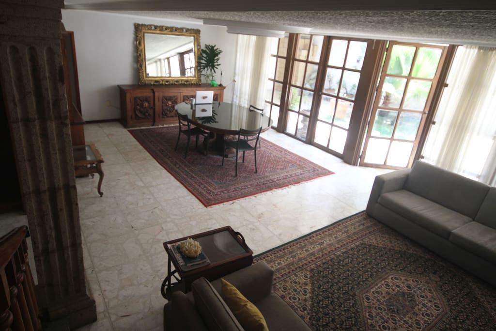 Sala, area de estar .