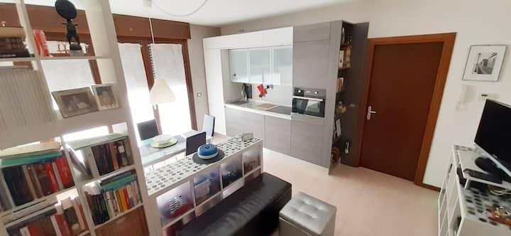 Appartamento moderno con ampio terrazzo esclusivo