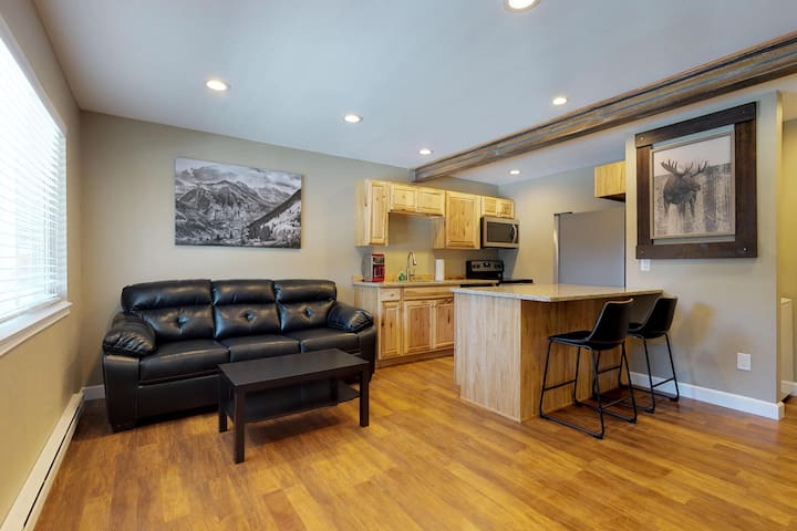 Comfortable condo w/ Quandary Peak views - near the slopes and Breckenridge