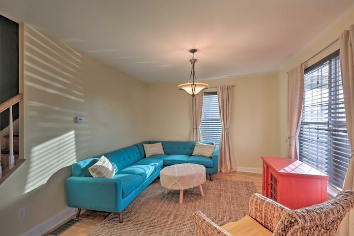 NEW! Colorful Abode w/ Yard, 9 Mi to Sesame Place!