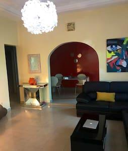 Chaleureuse villa pour vos séjours à Ouagadougou.