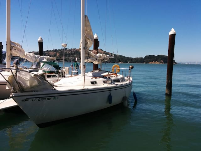 30' Live aboard sailboat on the bay - Alameda - Barco
