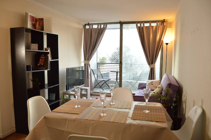 Excellent location, Subway and Parking is included - Santiago - Leilighet