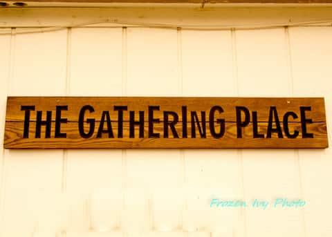 Le lieu de rassemblement