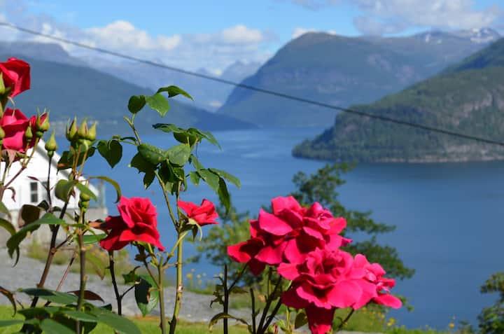 Panorama i Nordfjord