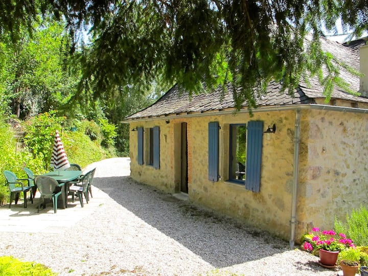 Beautiful and comfortable stone house near Najac