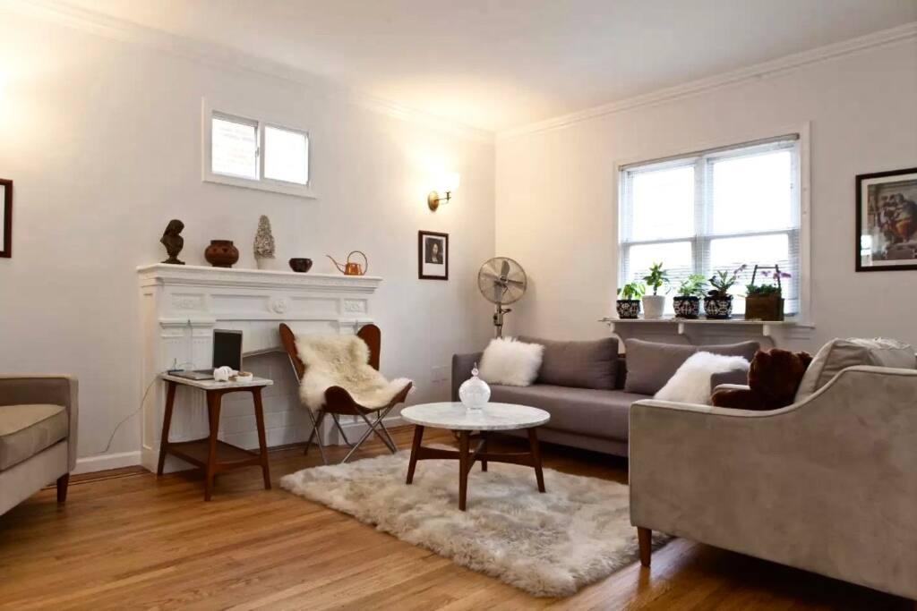 3rd floor living room furnished by Scandinavian designer furniture, Bo Concepts.