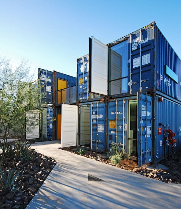 Containers On Grand Apartment