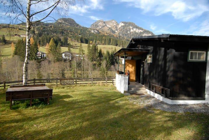 Ferienhütte mit Sauna in Grossarl