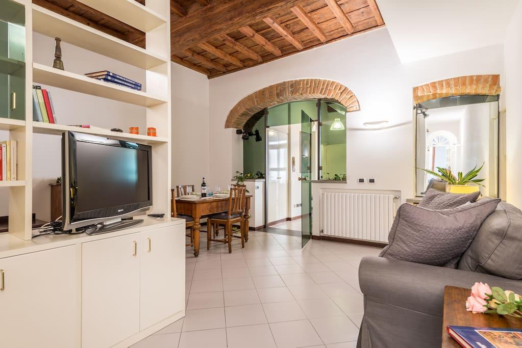 Divano soggiorno-living room and sofa bed