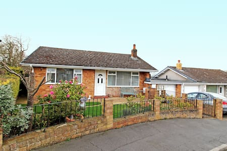 Beautiful bungalow in the Vale of Clwyd.
