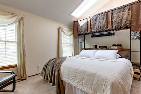 Master Suite with Style and Warmth