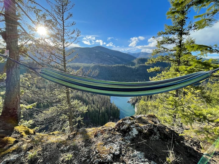 Mountain Refuge Ranch: Eagle Point Campsite