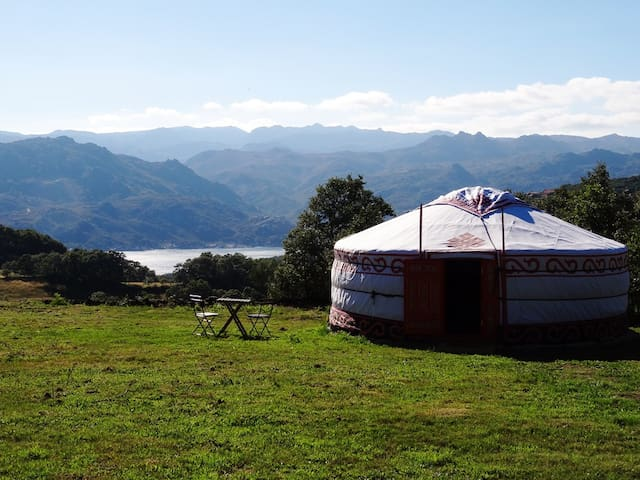 Yurt 2 Panoramic view national park - fiaes do rio  - Jurta