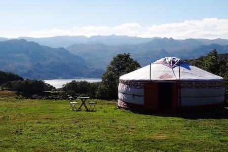 Yurt 2 Panoramic view national park - fiaes do rio  - Iurta