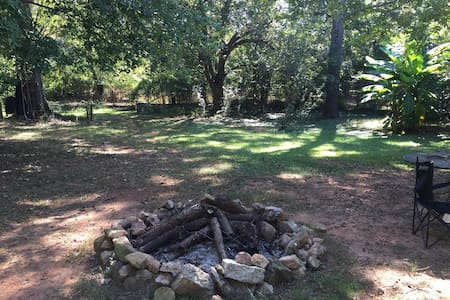 *Campsite* on a private 2 acres - Athens