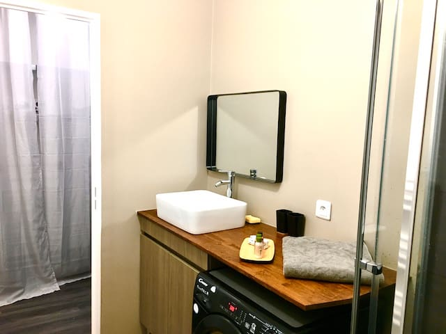 Appartement Confort, Wifi, Terrasse, 2min Gare