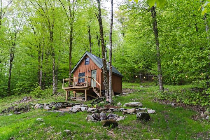 Tiny Vermont Cabin!