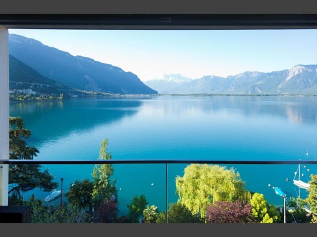Montreux 5* Star- 225m2, 5th Floor Lakeside Flat