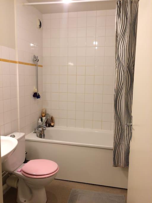 Salle de bain-toilettes
